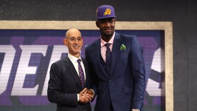 Suns select Ayton with No 1 pick