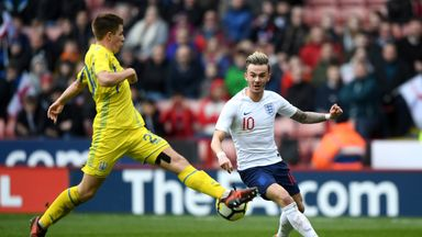 Maddison plays down England talk