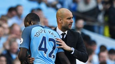 Guardiola responds to Toure claims