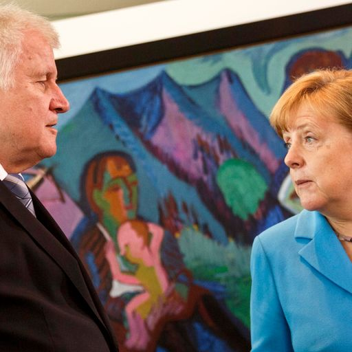 Angela Merkel's leadership under threat over migrant policy