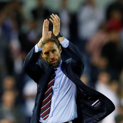 England manager Gareth Southgate dislocates shoulder while running