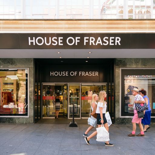House of Fraser store closures to cost 6,000 jobs