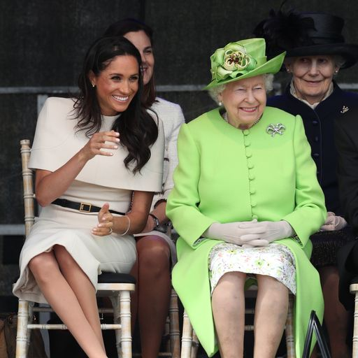 'I'm proud of Meghan': Queen praises duchess amid Sussexes' exit