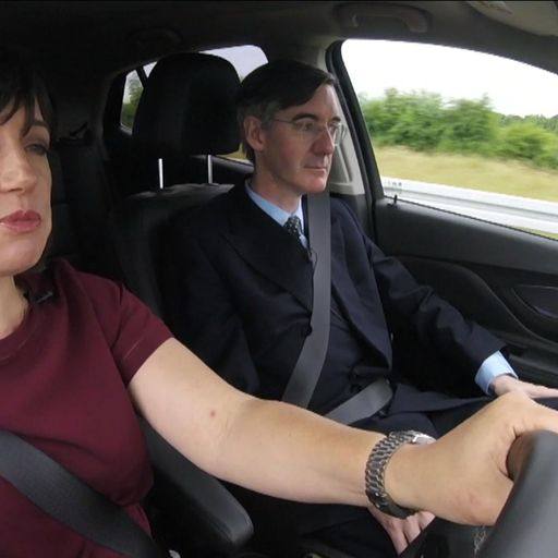 Jacob Rees-Mogg at Irish border: 'UK can win game of chicken'