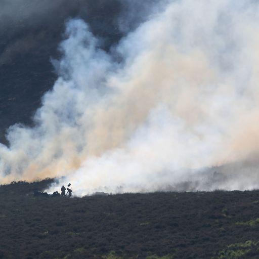Saddleworth Moor fire declared major incident