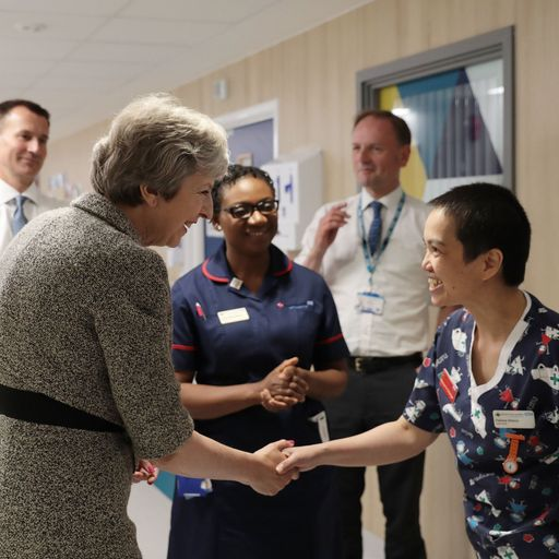 May's NHS gamble could be a defining moment