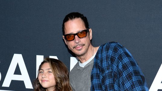 Musician Chris Cornell and his daughter Toni in 2016