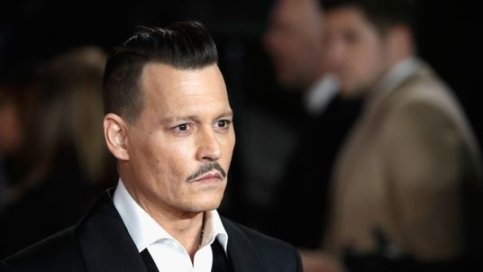 Johnny Depp attends the Murder On The Orient Express premiere in London last November