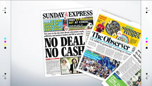 Sunday's papers with Sky News