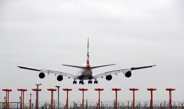Man charged over Heathrow drone incident