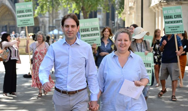 Government urged to deliver promise of heterosexual civil partnerships