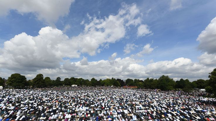 The event took place in Small Heath Park in Birmingham