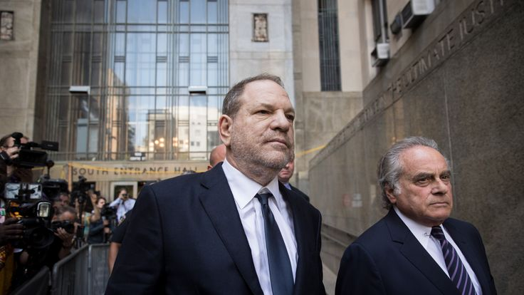 Harvey Weinstein and attorney Benjamin Brafman exit State Supreme Court, June 5, 2018 in New York City. Weinstein pleaded not guilty on two counts of rape and one count of a criminal sexual act. (Photo by Drew Angerer/Getty Images)