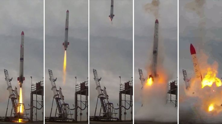 Seven times when space rocket launches have failed