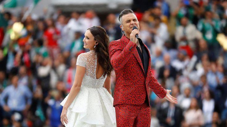 Robbie Williams and Aida Garifullina