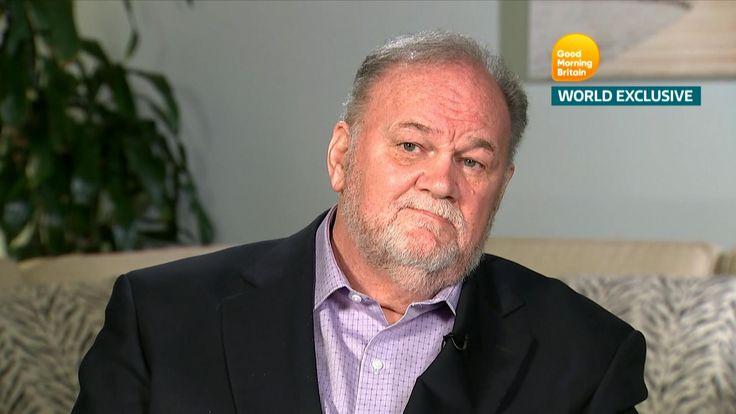 Thomas Markle speak's to ITV's Good Morning Britain