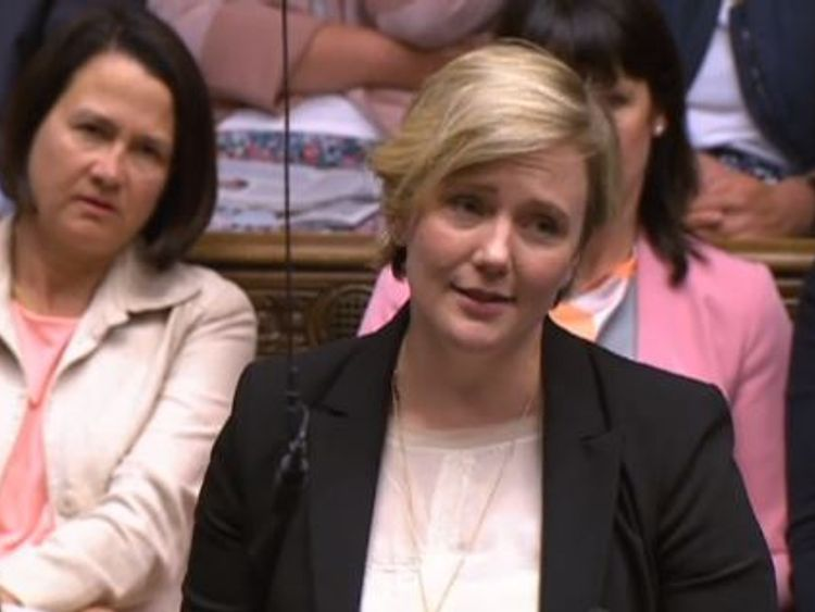 Labour MP Stella Creasy called for a debate on repealing Northern Ireland's abortion laws