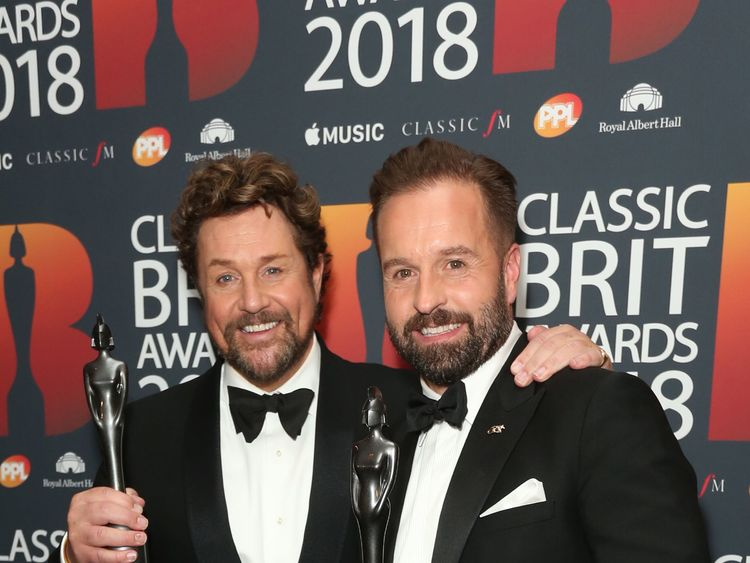 Meghan's cellist wins two Classic Brits trophies