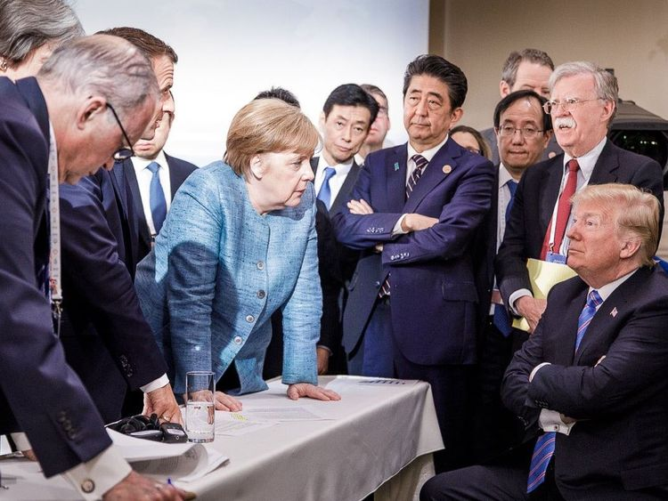 PM admits 'candid and difficult' G7 after Trump row