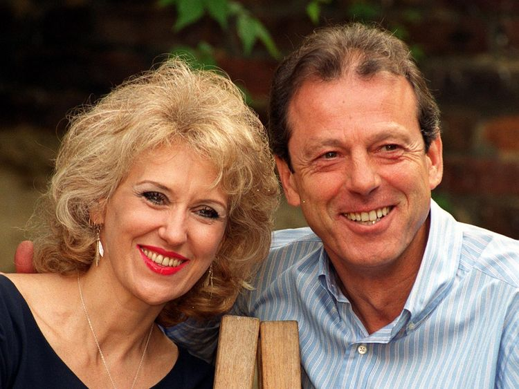 Anita Dobson and Leslie Grantham