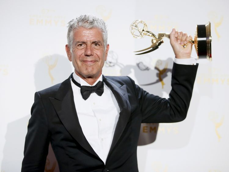 Celebrity chef Anthony Bourdain dies after 'suicide'