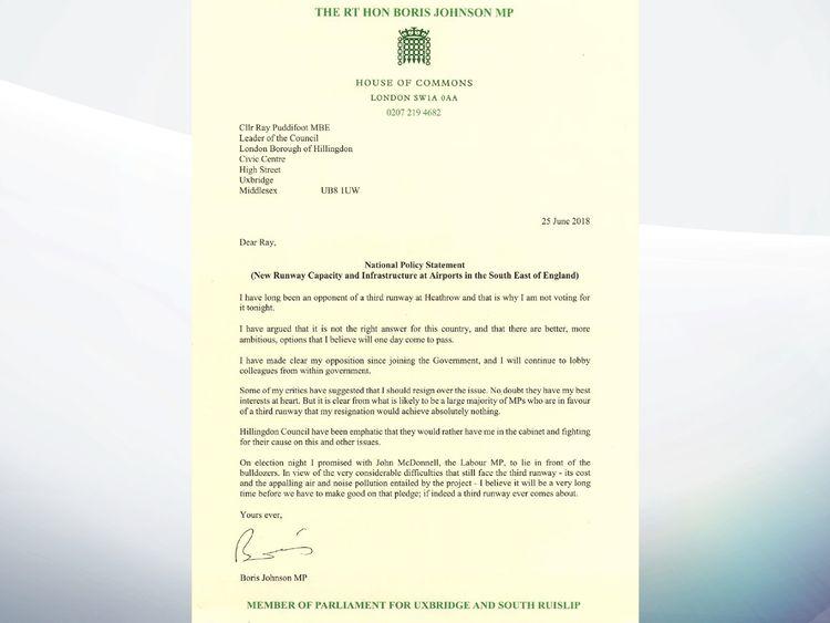 Boris's letter