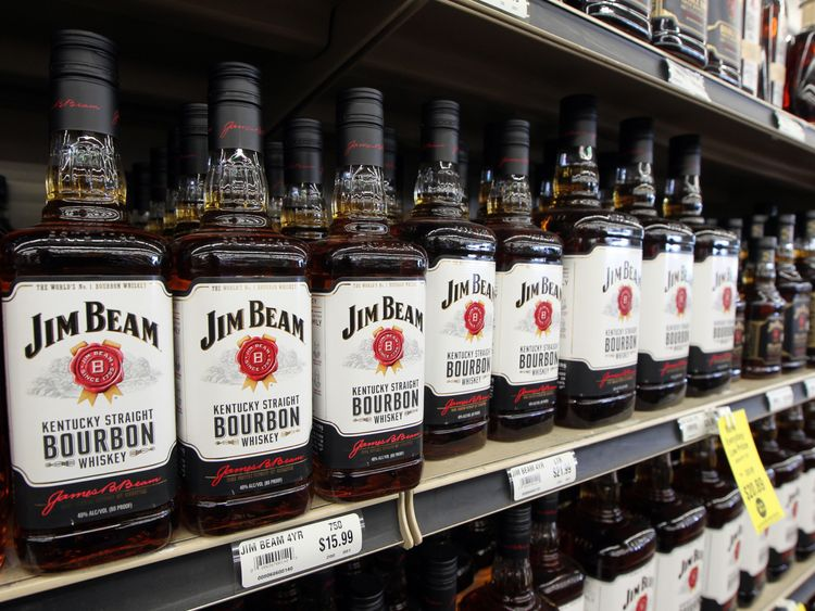 Bourbon whiskey is one of the products affected by EU tariffs
