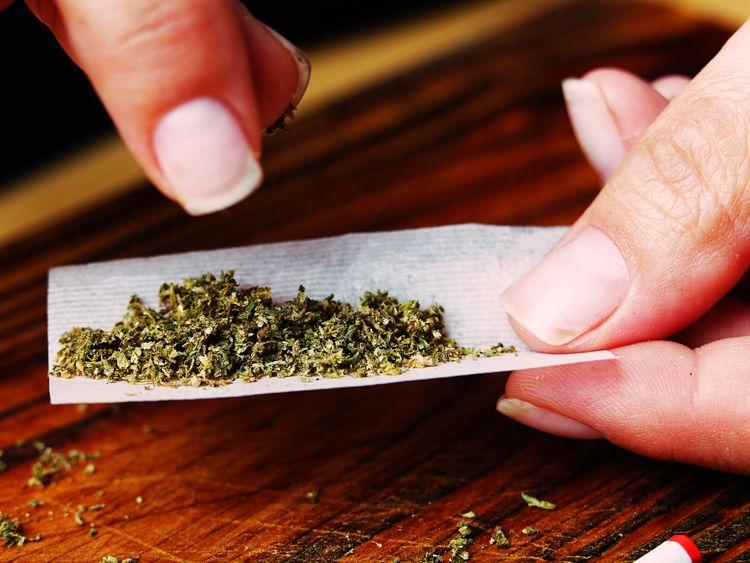 The recreational use of cannabis is illegal in most countries