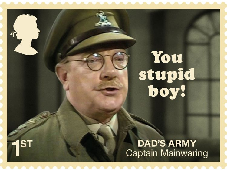 Don't panic! Dad's Army 50th celebrated with stamps