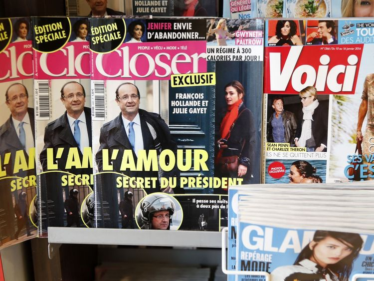Closer is a French celebrity gossip magazine