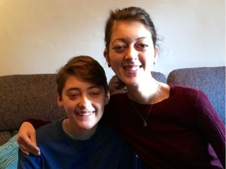 Colin Wells' children Joseph and Rachael both have mitochondrial disease