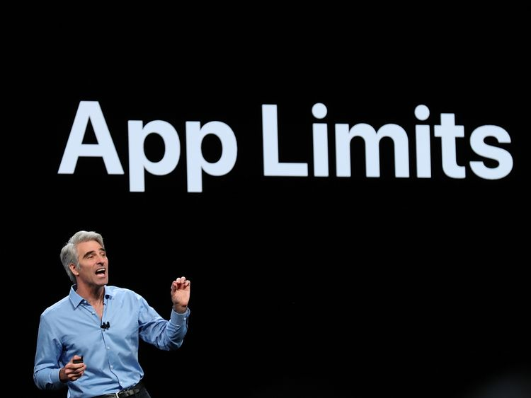 Apple's senior vice president of Software Engineering Craig Federighi announced new features