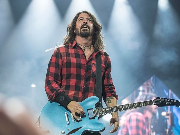 Foo Fighters prank fans with stage-fall stunt