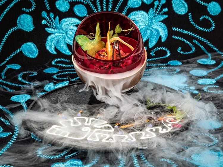 Dry ice has many uses, including in gastronomy
