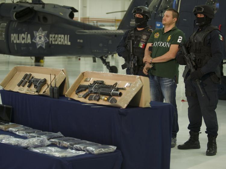 'La Barbie' drug lord Edgar Valdez Villarreal jailed for 50 years