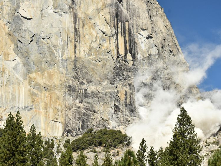 Two climbers died while scaling El Capitan in northern California