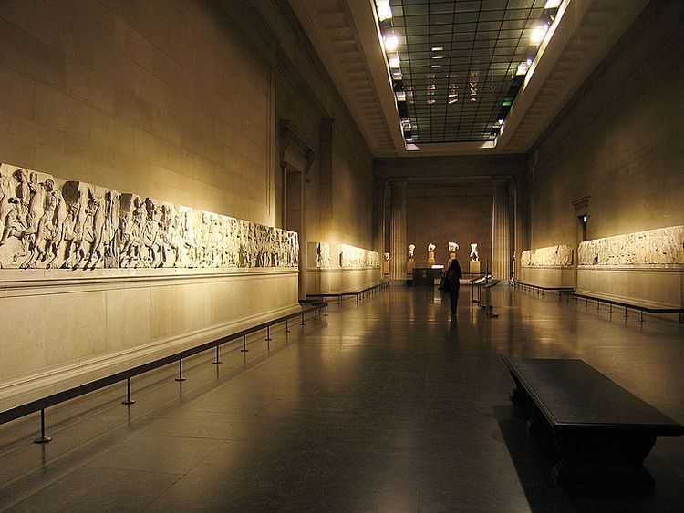 The Elgin Marbles housed in the British Museum. Pic: Andrew Dunn