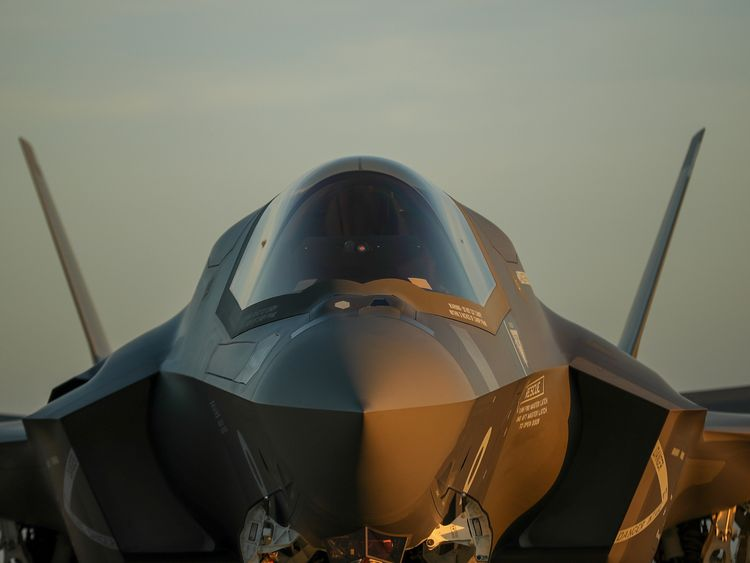 The F-35s were manufactured and tested in the US