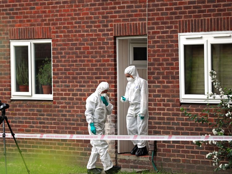 The two victims are in hospital in a serious but stable condition