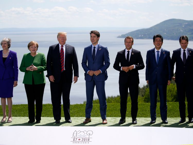 The G7 leaders