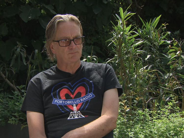Piers Thompson lives in the shadow of Grenfell Tower