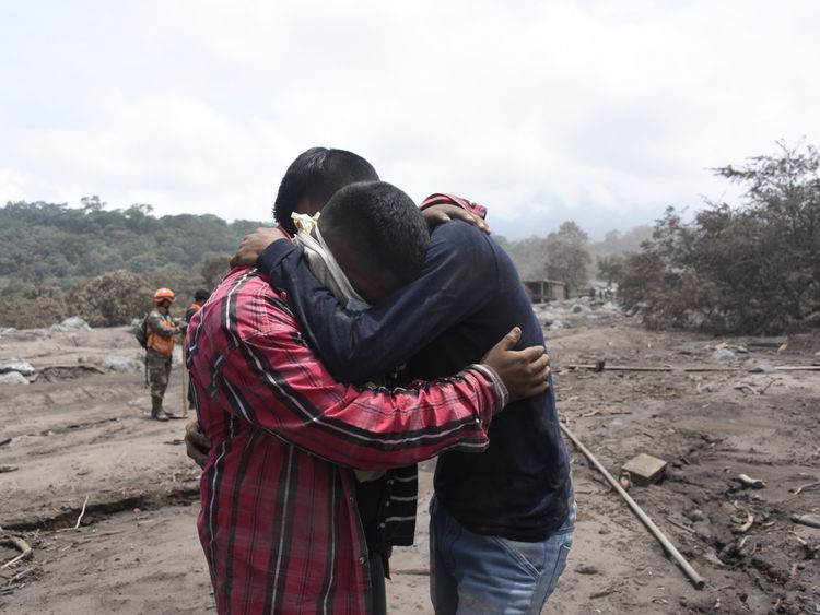 Guatemala volcano eruption leaves at least 25 dead