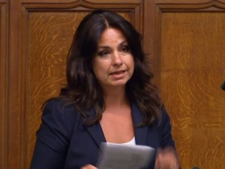 Conservative MP Heidi Allen revealed she had an abortion