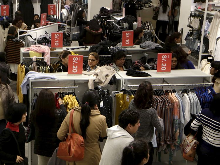 H&M makes womenswear sizes bigger after complaints