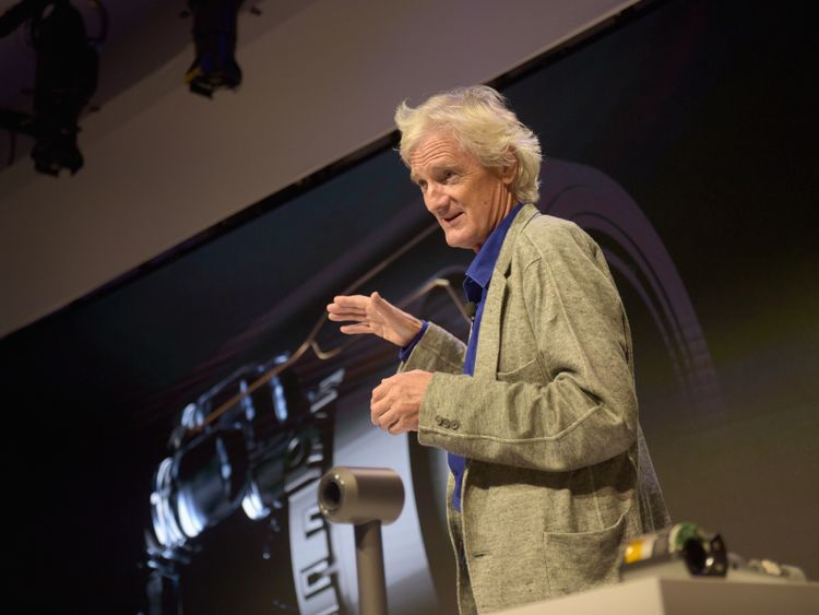British technology company Dyson to build electric auto in Singapore