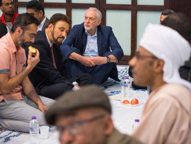Corbyn backs call for Tory Islamophobia probe