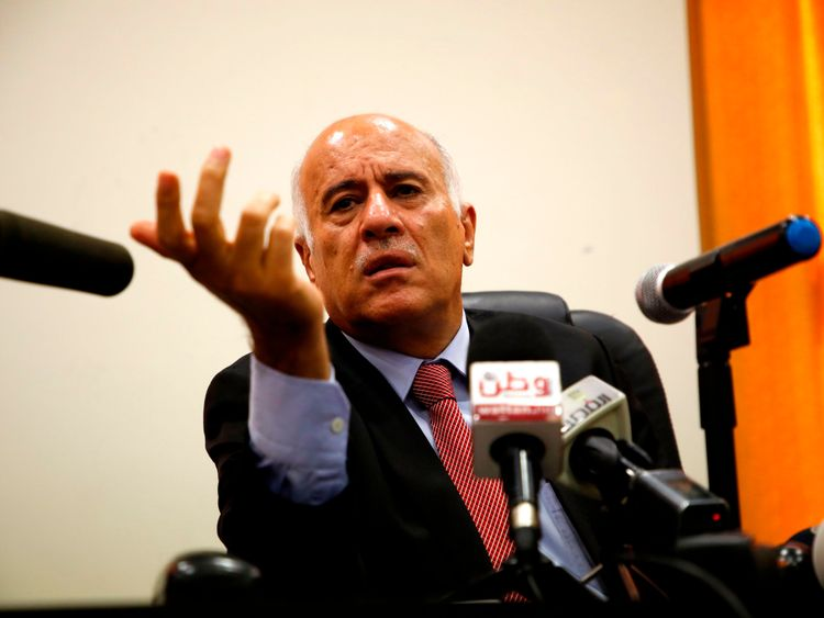 Jibril Rajoub had urged people to burn shirts with Messi's name or image on