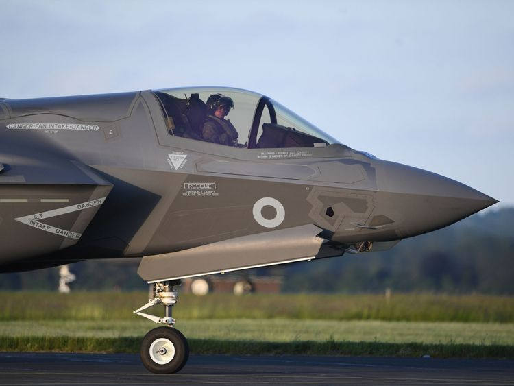 Wing Commander John Butcher said there were no issues with the F-35s as they crossed the Atlantic