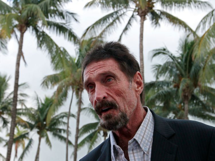 John McAfee Poisoned By