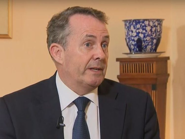 International trade secretary Liam Fox told Sky News he would rather come to the right Brexit decision not just a quick one